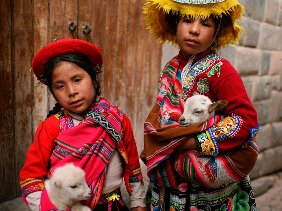 Pictures Of Peru'S Clothing 57